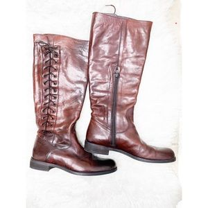 Shoes - Gorgeous cognac brown leather boots